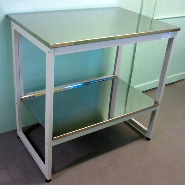 Стол для чистых помещений с нижней полкой - NordLine