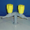 Лабораторная мебель цельнометаллическая ММЛ : Кран газовый