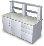 Лабораторная мебель ММЛ - Стол лабораторный ММЛ-06