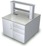 Лабораторная мебель ММЛ - Стол островной ММЛ-15