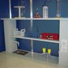 Лабораторная мебель металлическая ММЛ : Полка