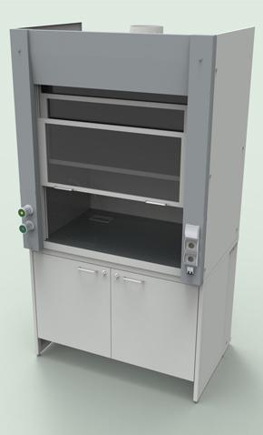 Лабораторная мебель NordLine - Шкафы вытяжные
