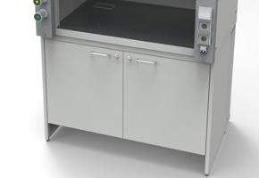 Лабораторная мебель NordLine - Шкафы вытяжные - Вентилируемая тумба МЕТАЛЛ