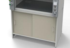 Лабораторная мебель NordLine - Шкафы вытяжные - Вентилируемая тумба ПОЛИПРОПИЛЕН