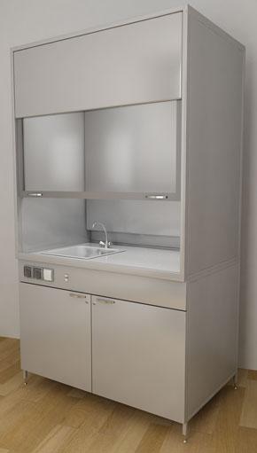 Лабораторная мебель ММЛ - Шкаф вытяжной