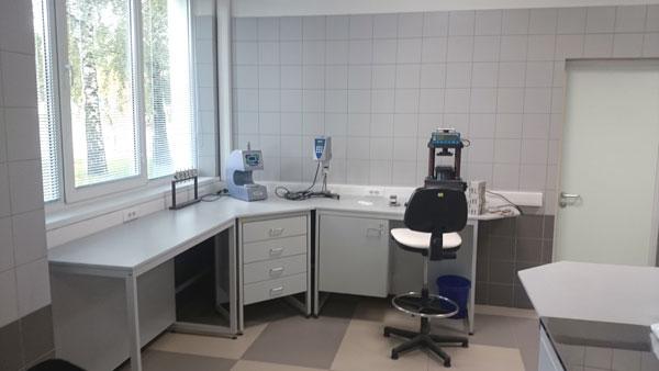 Типовая строительная лаборатория , мебель NordLine (фото 1)