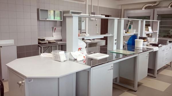Типовая строительная лаборатория , мебель NordLine (фото 2)