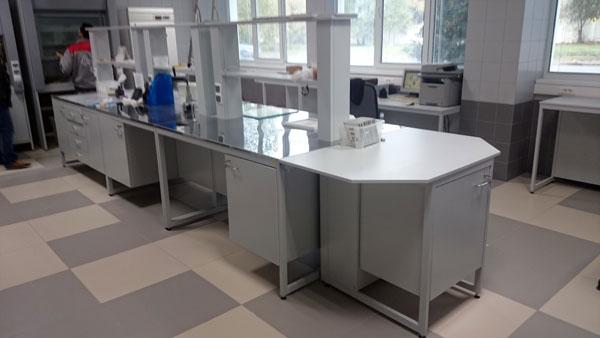 Типовая строительная лаборатория , мебель NordLine (фото 3)